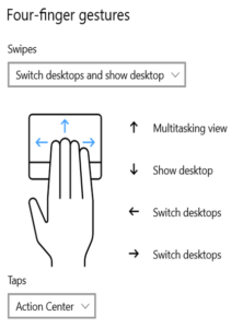 Windows 10 Tips and Tricks on Touchpad Gesture